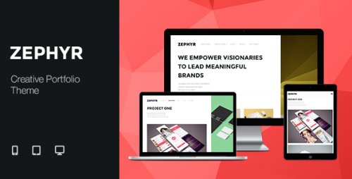 Zephyr - Creative Portfolio WordPress Theme