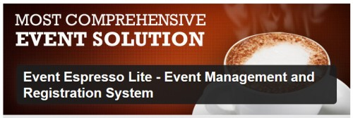 Event Espresso Lite - Event Management and Registration System
