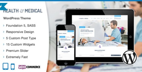 Health & Medical Responsive WordPress Theme