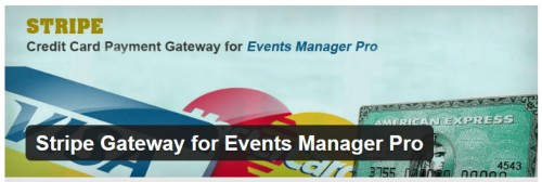 Stripe Gateway for Events Manager Pro