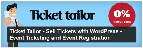 Ticket Tailor - Sell Tickets with WordPress