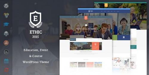 ETHIC LMS Education, Event and Course Theme