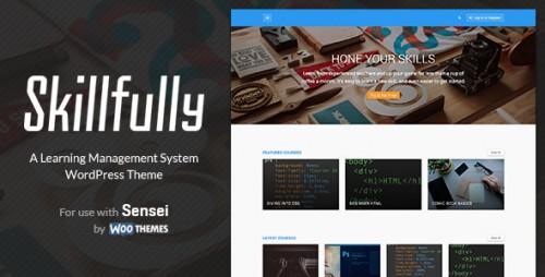 Skillfully - Learning Management System Theme
