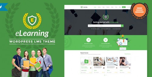 eLearning LMS WordPress Theme