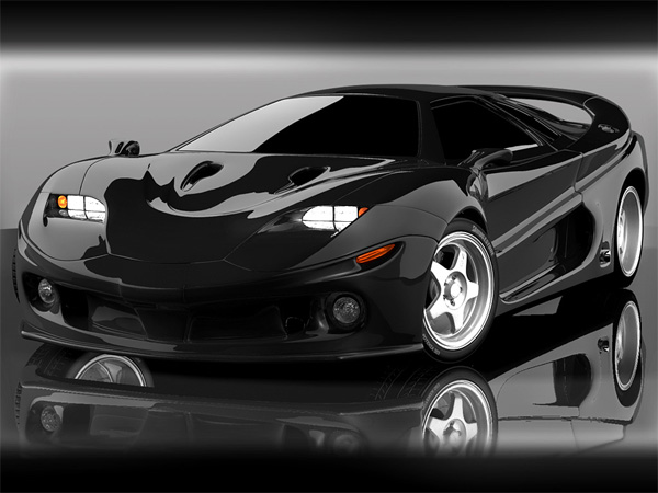 Concept Car Wallpaper 02 BLACK