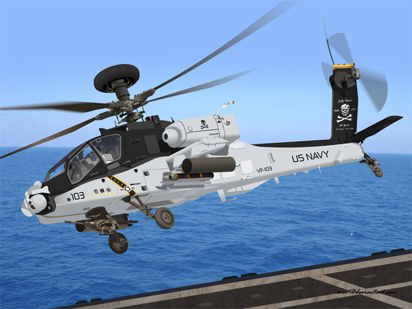Jolly Apache Longbow- Aircraft Wallpapers